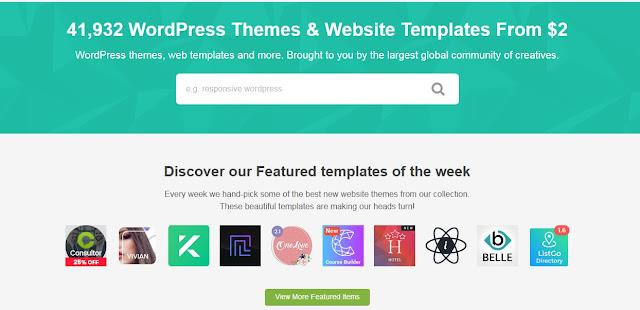 4 Best Wordpress Theme & Templates