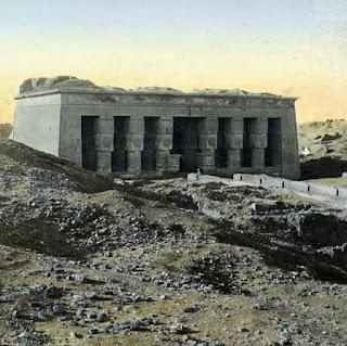 معبد دندرة عام 1857