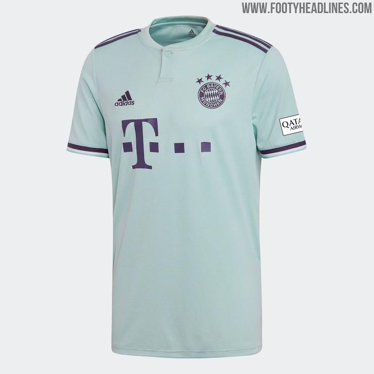 Bayern Munich 18-19 Away Kit Released - Footy Headlines c8cb4e357