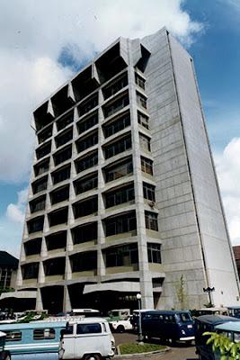 gedung deptamben kementerian esdm pra renovasi total bangun persada