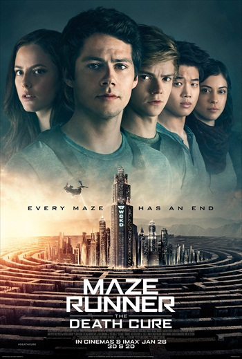 Maze Runner The Death Cure 2017 English 480p HC HDRip 400MB