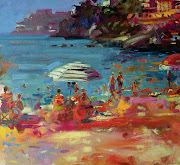 SEPTEMBER inspiration is Monaco Coast by Peter Graham