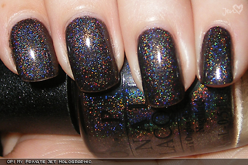 xoxoJen's swatch of OPI My Private Jet Original