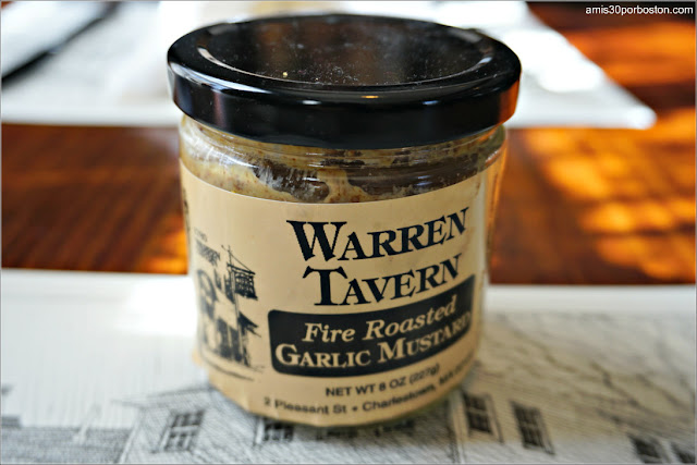 Mostaza de Ajo de Warren Tavern en Charlestown, Boston