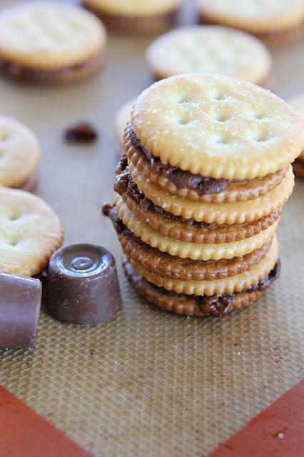 Carmen S Kitch Rolo Stuffed Ritz Crackers