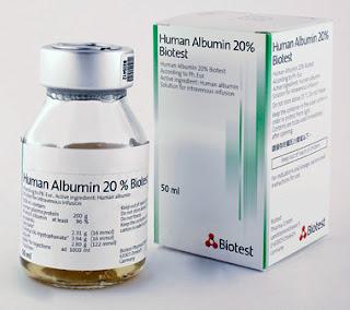 human albumin solution