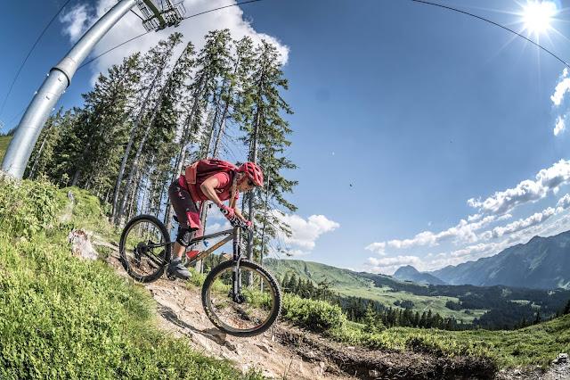 Enduro Hardtail Mountainbike Vorteile Trail Technische Abfahrten