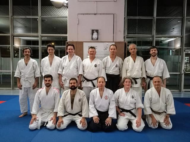 Photo de fin de cours Aikibudo à Jussieu