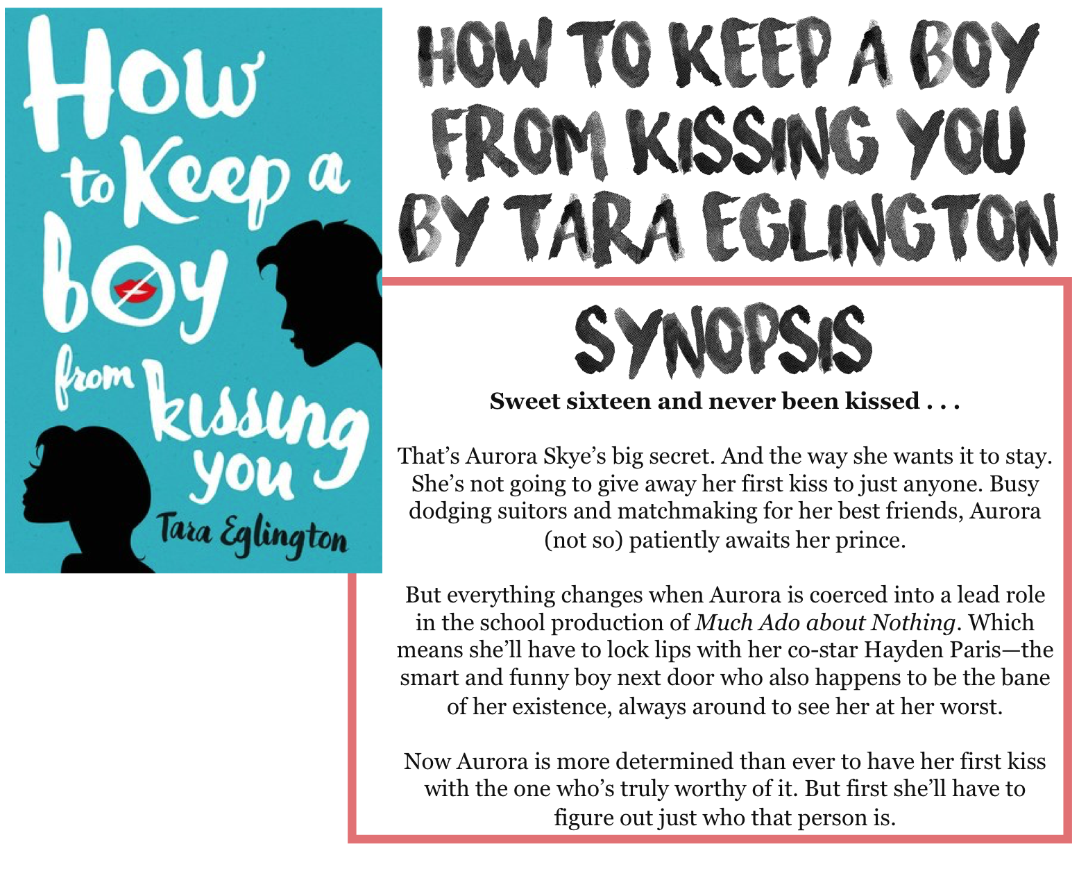 How to start kissing a boy