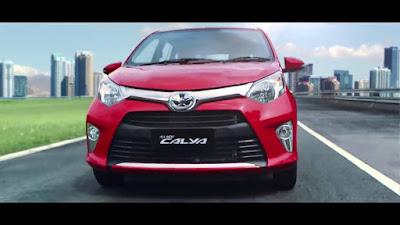 Toyota Calya Mini MPV front angle hd image