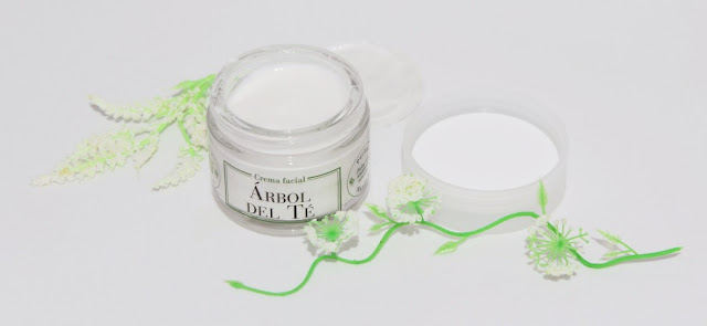 Crema facial Bio Árbol de té