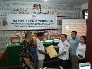 TPS Pemilu 2019 Kabupaten Minahasa Selatan Bertambah
