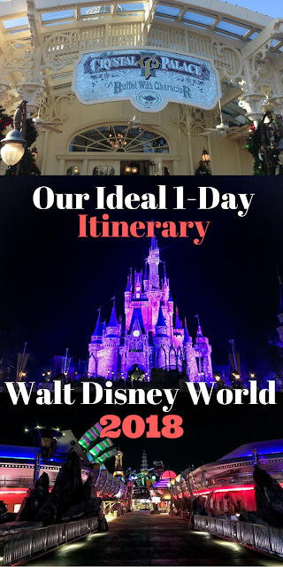 Our Ideal 1-day Disney World Itinerary
