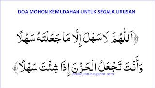 Doa Mohon Kemudahan Segala Urusan