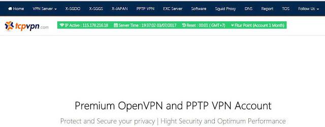 Cara Menggunakan VPN di PC/Laptop di TcpVPN