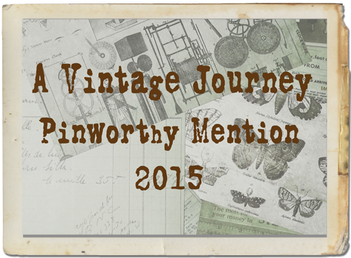 Pinworthy Mention A Vintage Journey