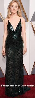 Saoirse%2BRonan%2Bin%2BCalvin%2BKlein - Look Óscares 2016