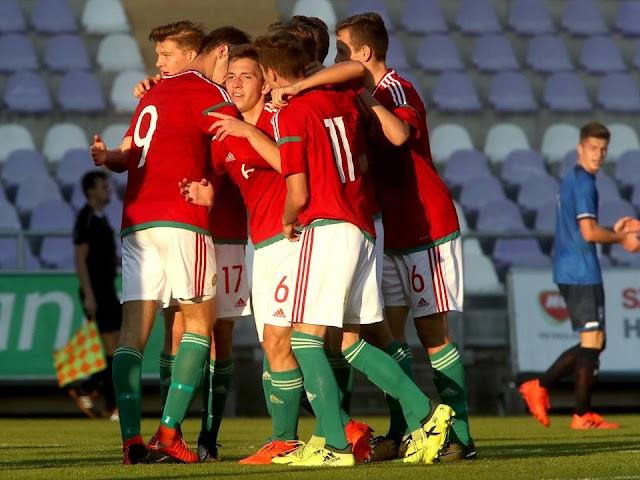 Második lett a már Eb-résztvevő U17-es magyar labdarúgó-válogatott