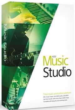 MAGIX ACID Music Studio + Crack