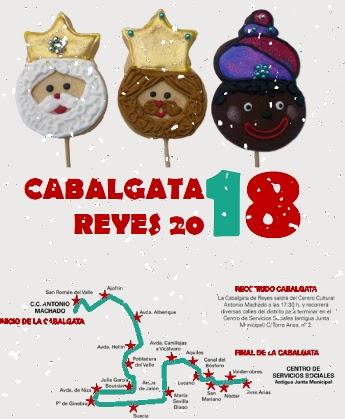 Cabalgata de Reyes de San Blas - Canillejas 2018 Fecha, horario y recorrido