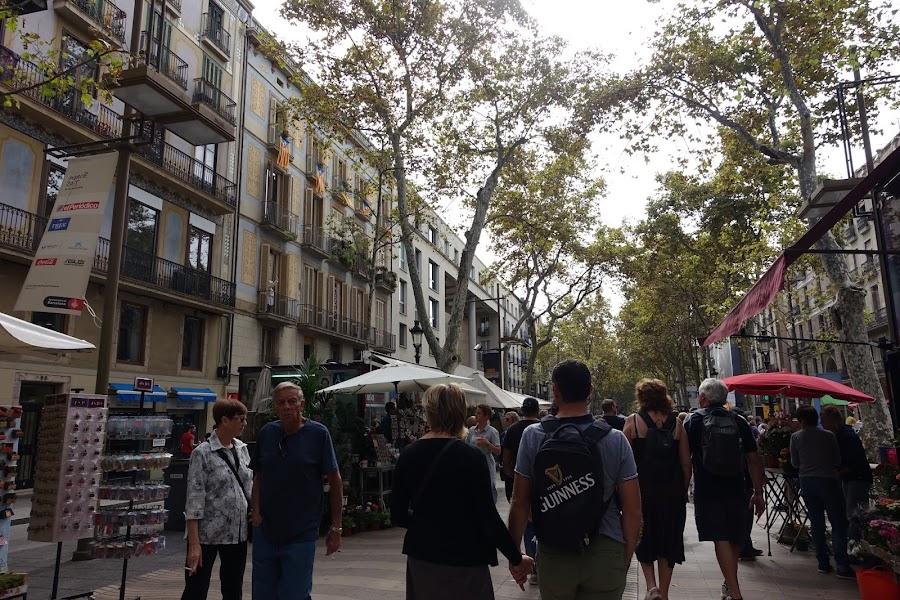 ランブラ・ダ・サン・ジュゼップ(Rambla de Sant Josep)