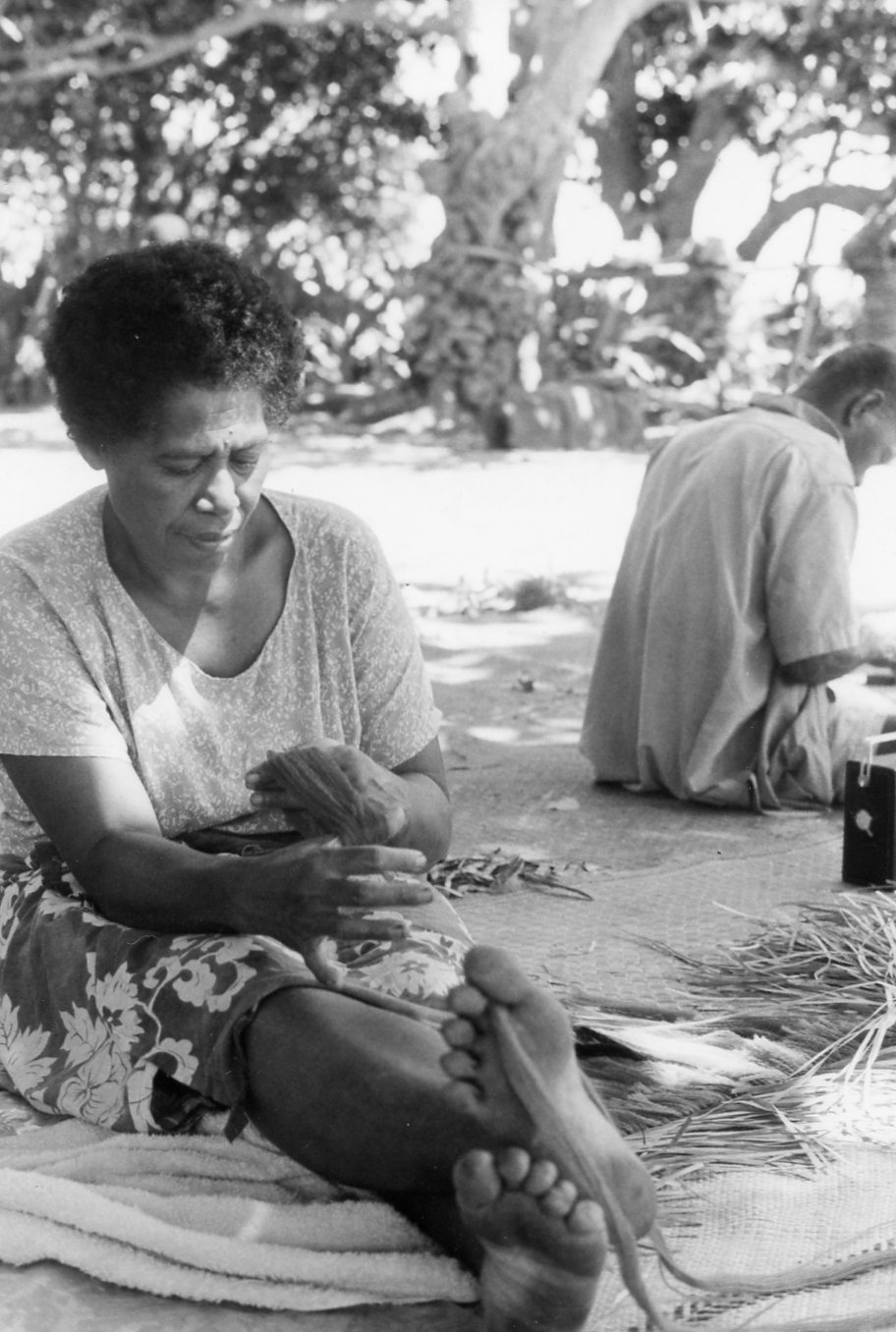 Daily Life In Ono I Lau Fiji 50 Years Ago Sitting Around