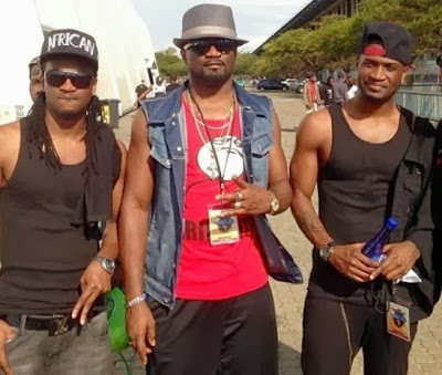 psquare in south africa