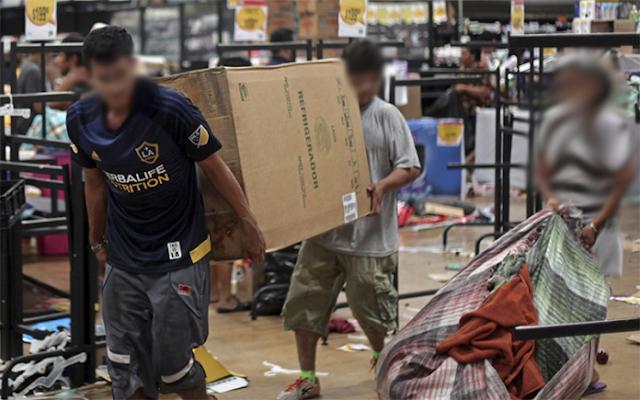 Menjarah Saat Bencana Boleh, Tapi Asalkan Dengan Alasan Ini