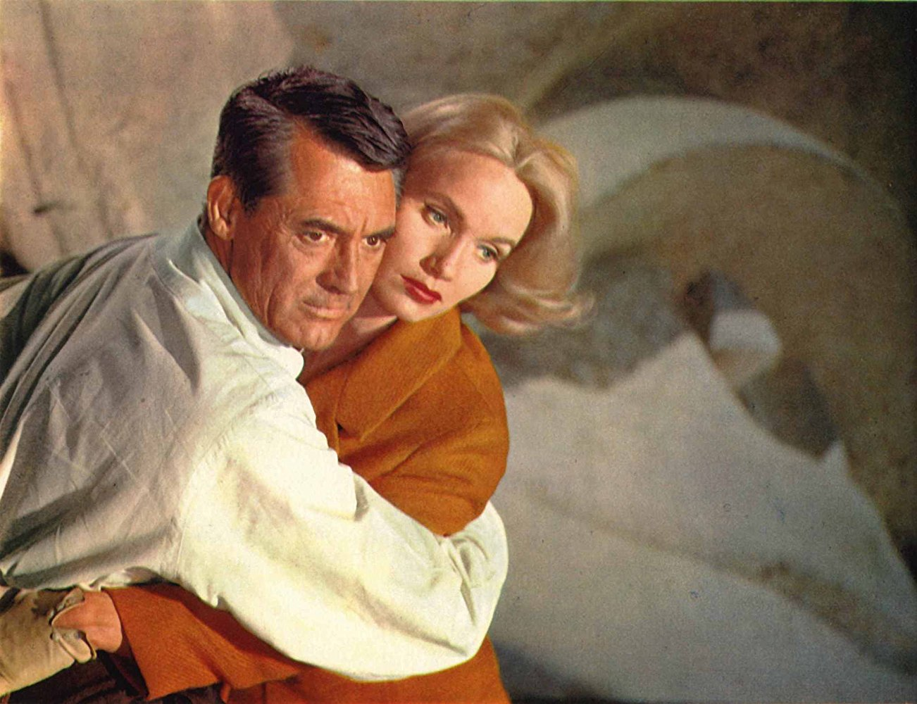 Image result for north by northwest cast