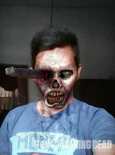 Cara mengubah foto menjadi zombie diandroid