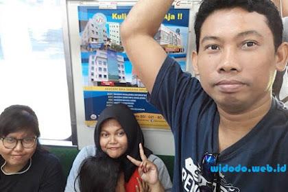 Jalan-Jalan Naik Kereta Ke Kota Tua Jakarta