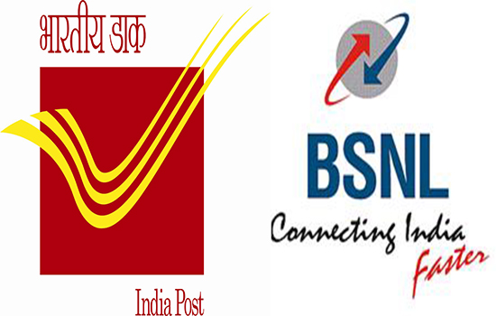 India Post (DOP) to roll out payment bank services through Post Offices across India in association with BSNL