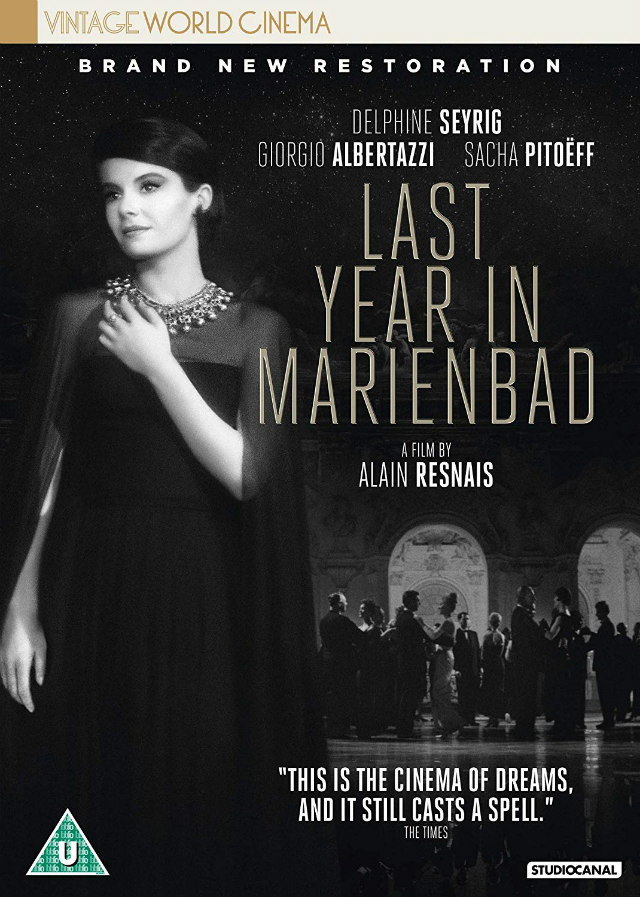 LAST YEAR IN MARIENBAD uk dvd