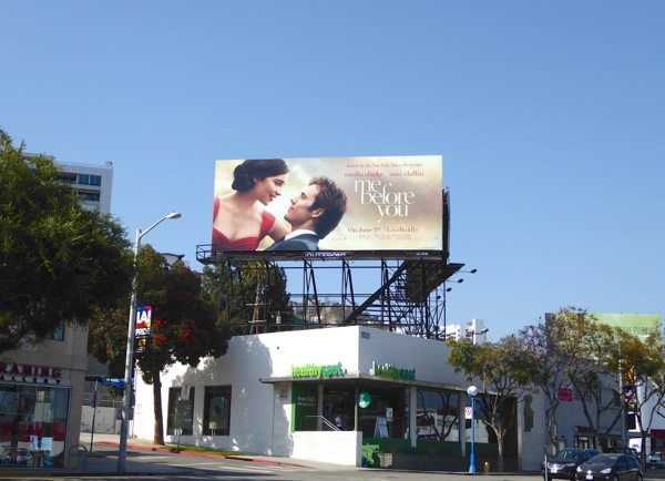 Me Before You film billboard