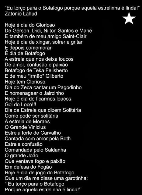 Poema do Botafogo