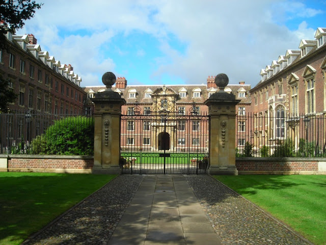 Saint Catherine's College.  Cambridge