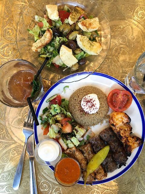 mixed grill Comptoir Libanais Gluten free Middle Eastern Lebanese Canteen