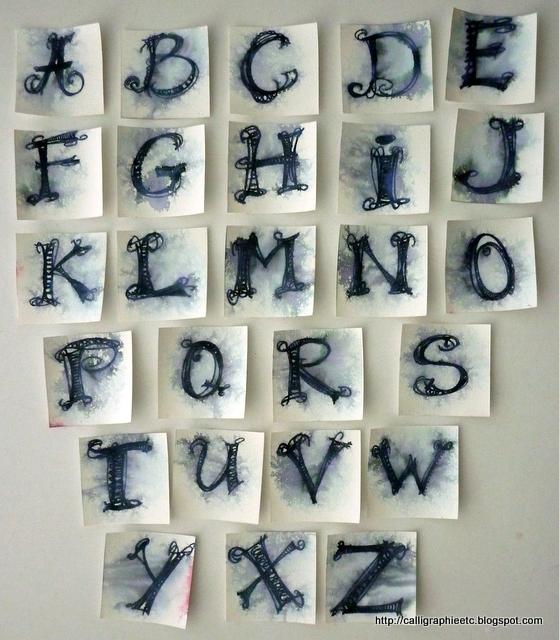modele de lettre alphabetique pour tatouage. Black Bedroom Furniture Sets. Home Design Ideas