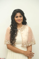 Megha Akash in beautiful Cream Transparent Anarkali Dress at Pre release function of Movie LIE ~ Celebrities Galleries 005.JPG