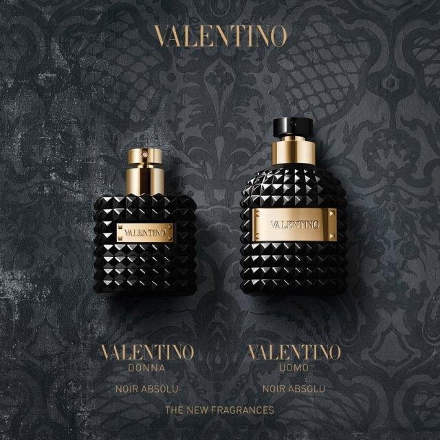 Valentino Uomo Noir Absolu - oficjalne zdjęcie