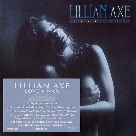 LILLIAN AXE - Love + War [Rock Candy remastered] (2017) full