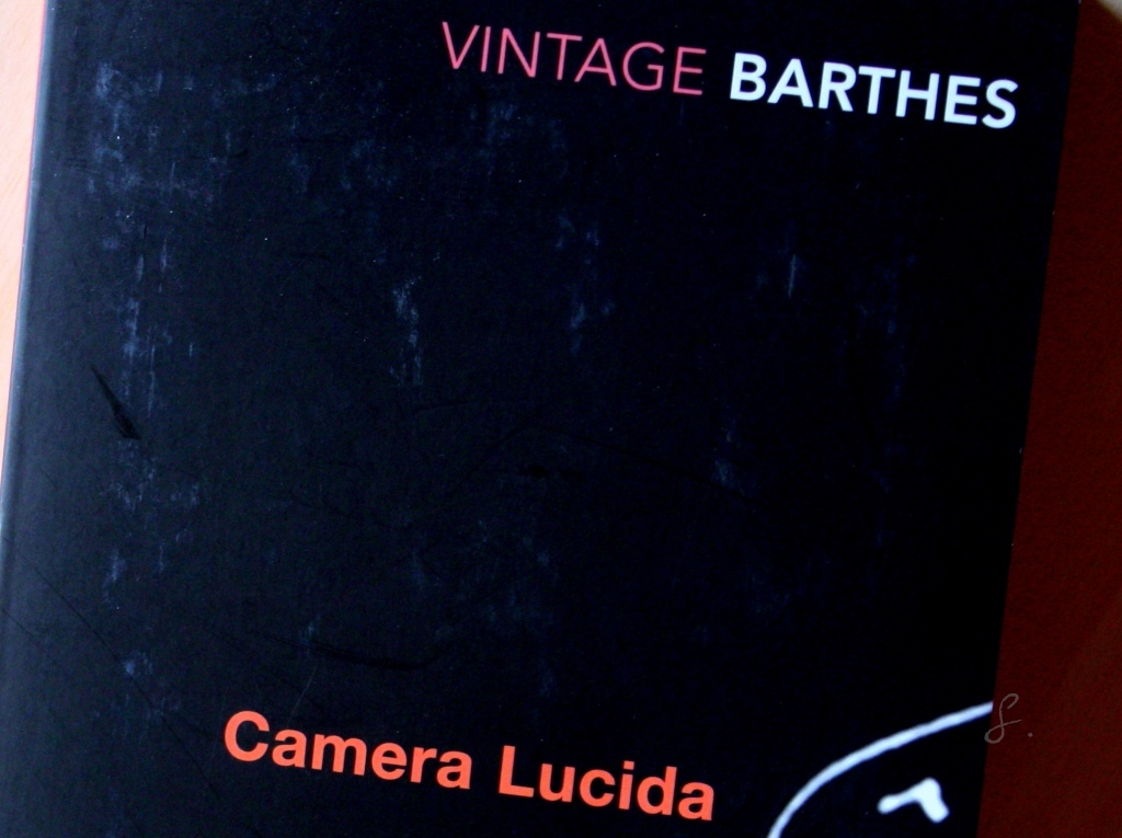 responce barthes camera lucida Barthes's announced approach in camera lucida is nothing if not personal i decided to take myself as mediator for all photography, he writes early on (cl, p 8 cc, pp 21-22)and: i have determined to be guided by the consciousness of my feelings (cl, p 10 cc, p 24)and at greater length.