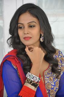 Actress Chandini Pictures in Salwar Kameez at Kalyan Cine Creations Movie Launch  0004