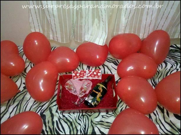 Festa Surpresa No Quarto Do Namorado ~   de ?ltima hora para o Dia dos Namorados  Surpresas para Namorados