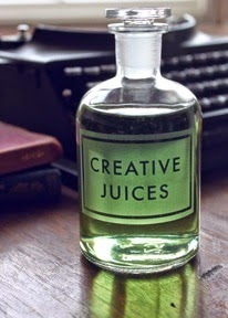 Creative juices are flowing