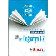 Sınav LYS Coğrafya 1 2 Akordiyon Serisi