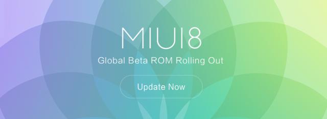 ROM MIUI 8 Global Beta ROM 6.7.5 Resmi Rilis