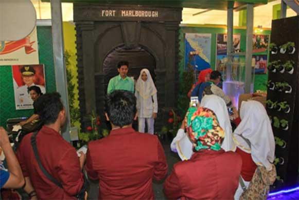 Bengkulu, DetikBengkulu.com, Miniatur Benteng Marlborough Tempat Selfie Favorite di KTNA Aceh
