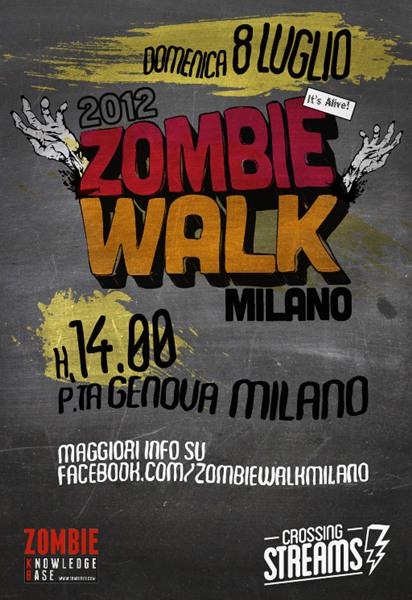 Zombie Walk Milano: 8 Luglio 2012
