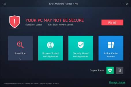 IObit Malware Fighter Pro 4.4.0.3072 Multilenguaje Full Mega